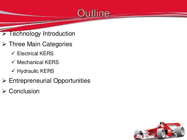 Kinetic Energy Recovery Systems Slide 2