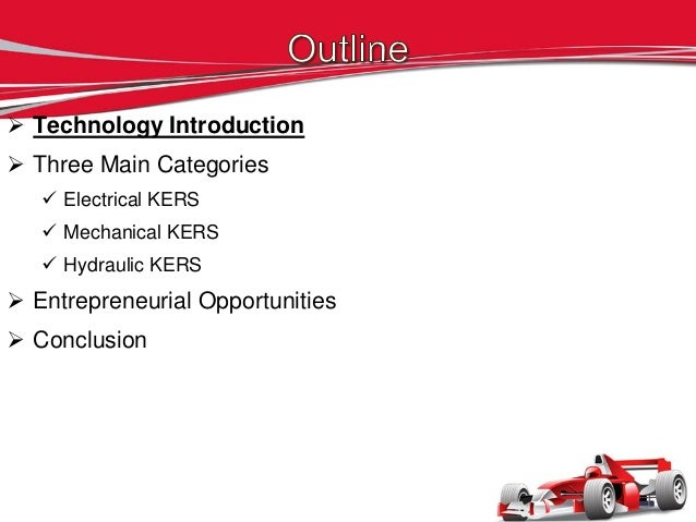 Kinetic Energy Recovery Systems Slide 3