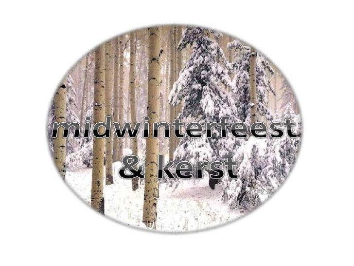 midwinterfeest & kerst<br />