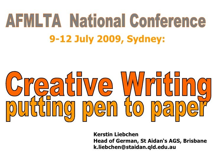 creative writing courses brisbane