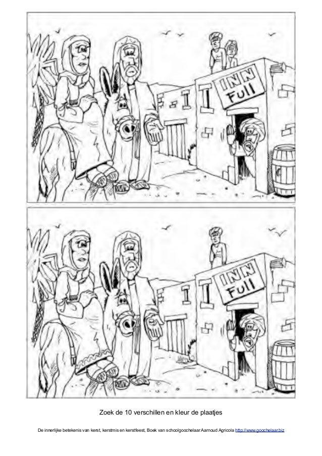 Kerstverhaal Uit Kinderbijbel In Gratis Kerst Werkboek