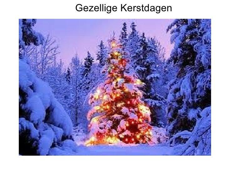 Gezellige Kerstdagen