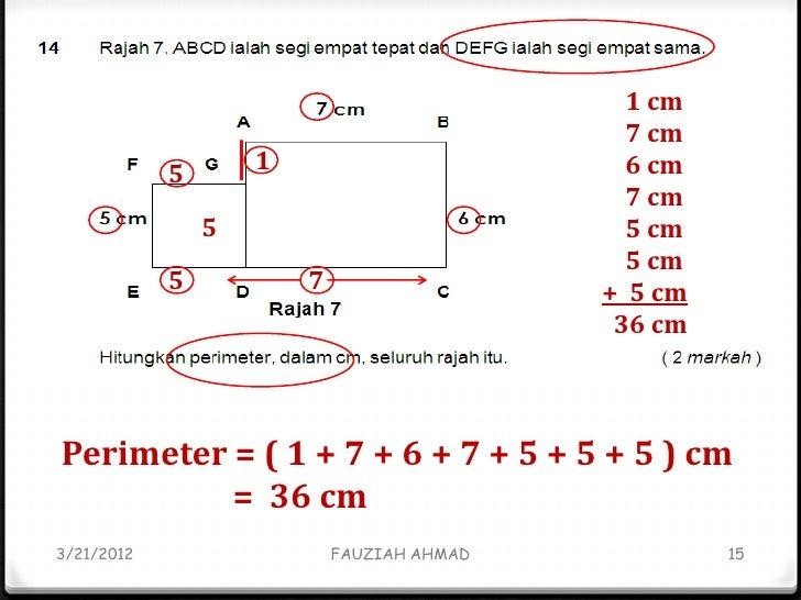 Contoh Soalan Matematik Upsr 2018 V Soalan