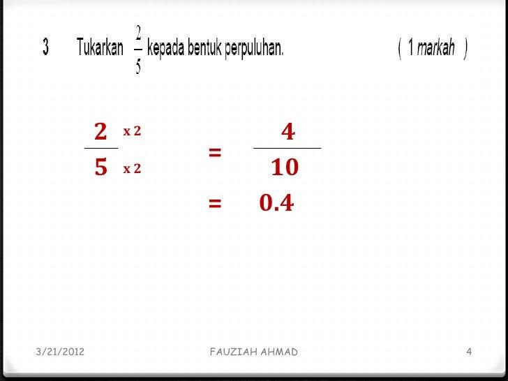 Kertas Soalan Dan Jawapan Matematik Tahun 5 Jalan Permata 2