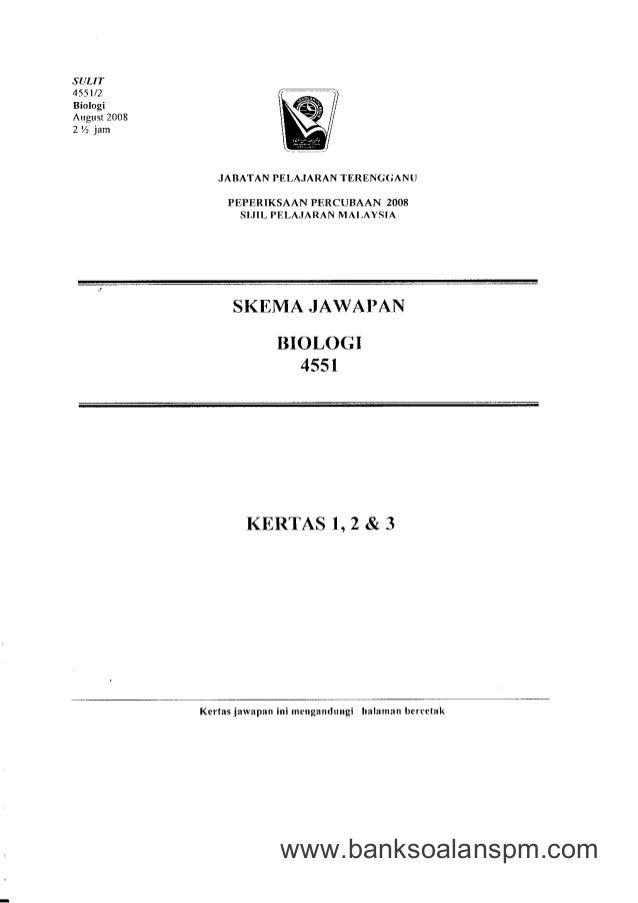 Kertas 3 Percubaan Spm 2008 Terengganu