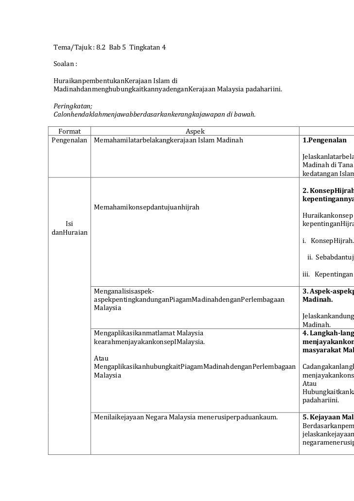 Skema Jawapan Sejarah Kertas 3 Pembangunan Dan Perpaduan Untuk Kesejahteraan Grills Zubehor