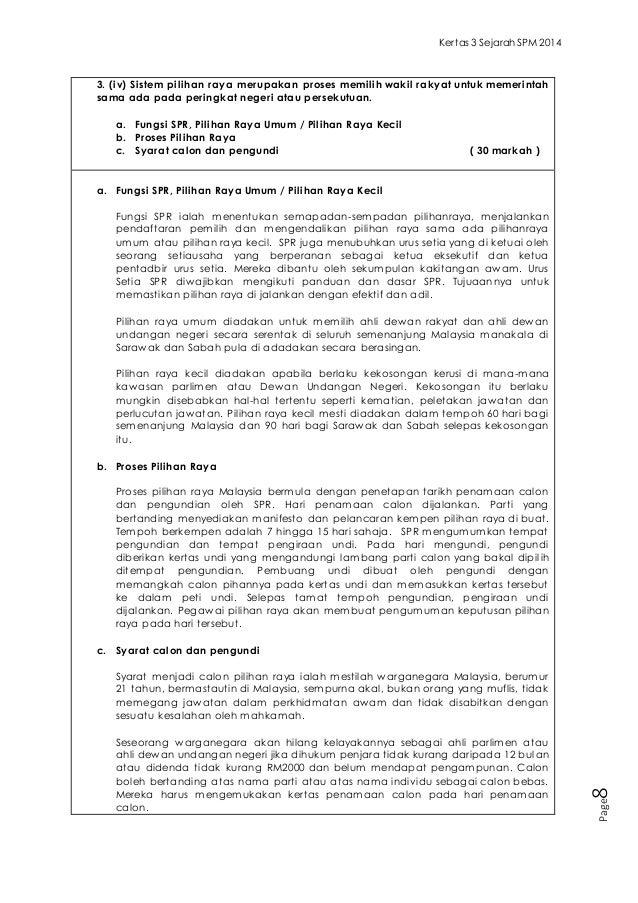 Contoh Skema Jawapan Sejarah Kertas 3 Spm 2013 - Contoh Two