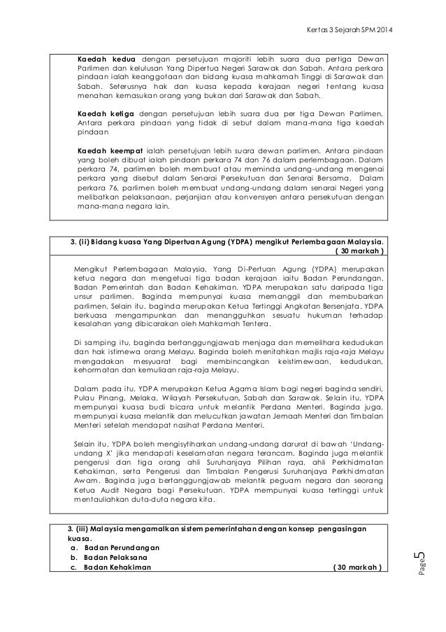 Contoh Soalan Esei Sains Tingkatan 4 Selangor G