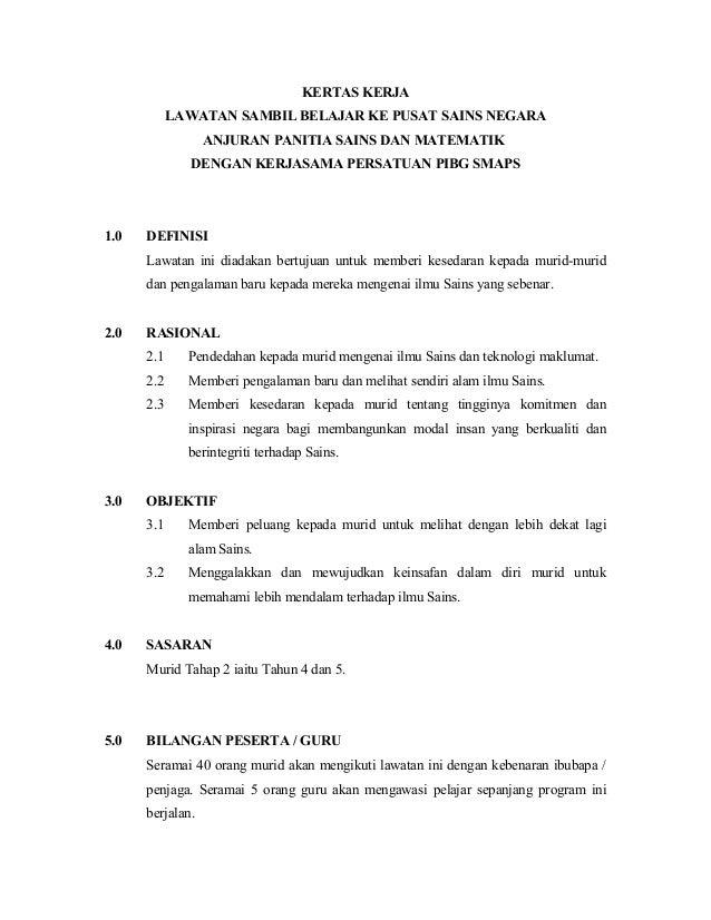 Contoh Kertas Kerja Sukaneka Contoh Box