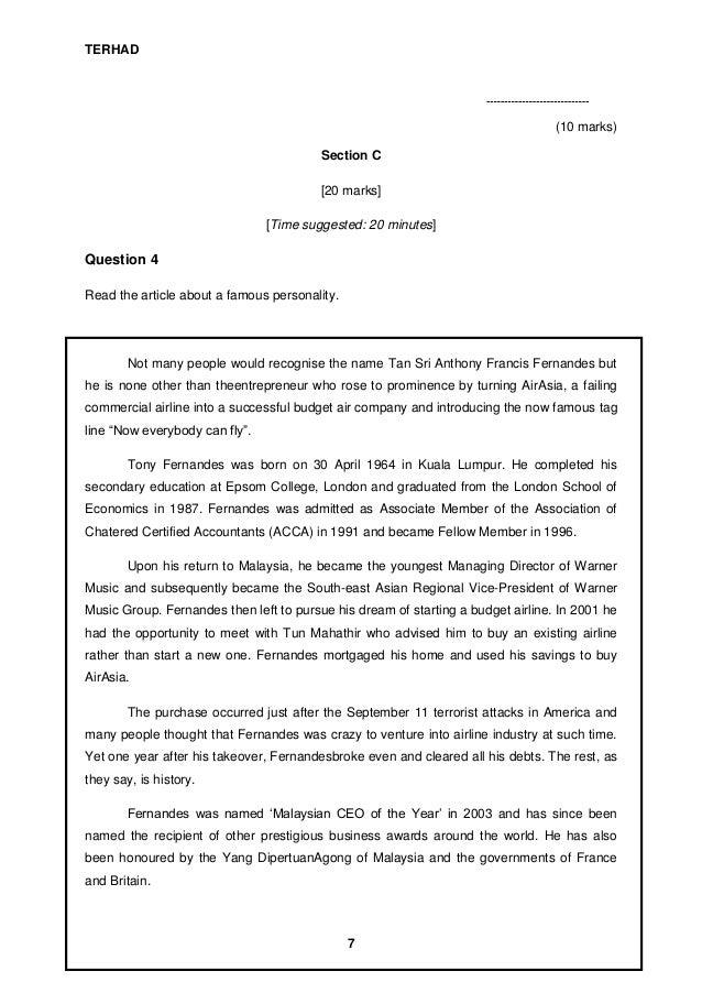 pt3 bi tips Documents similar to teknik menjawab soalan bi pmr skip carousel carousel previous carousel next trial english paper 2 2013 sbp bi trial pmr kertas 1 2013.
