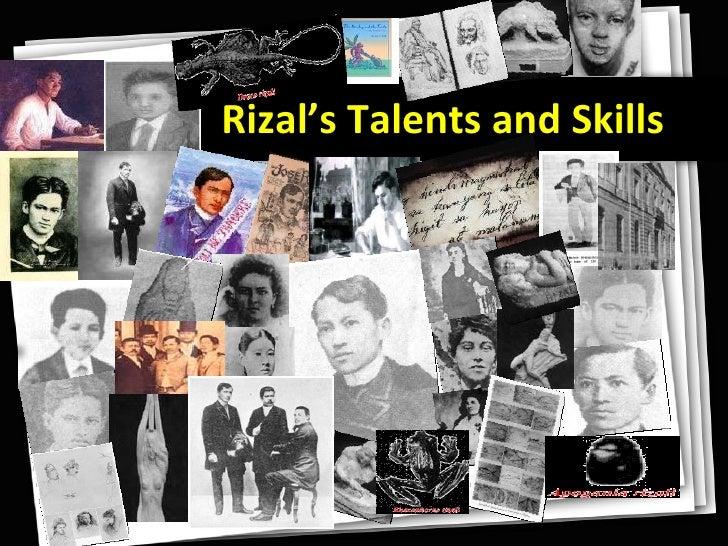 Rizal's Talents and Skills