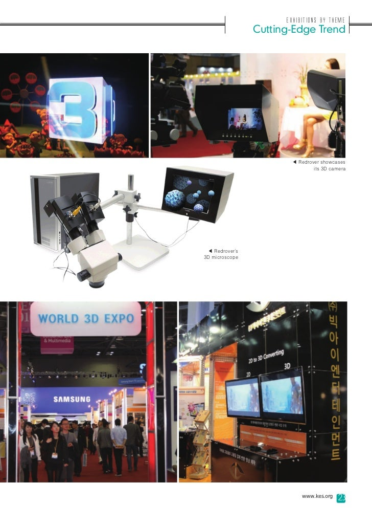 Exhibitions by Theme                Cutting-Edge Trend                       ◀ Redrover showcases                         ...