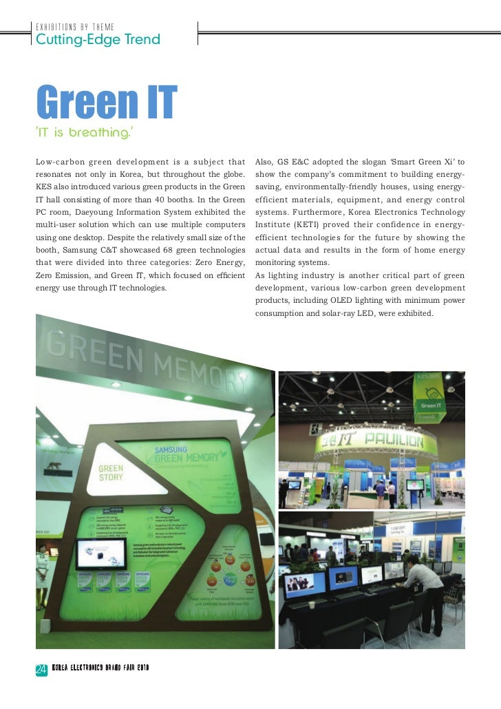Exhibitions by ThemeCutting-Edge TrendGreen ITIT is breathing.Low-carbon green development is a subject that              ...