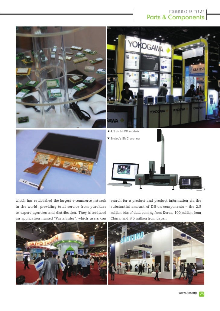 Exhibitions by Theme                                                                                Parts & Components    ...
