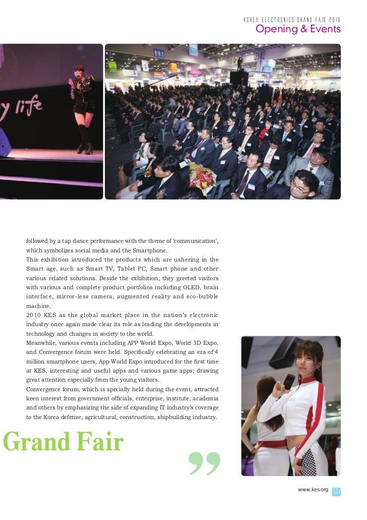 korea electronics grand fair 2010                                                                                Opening &...