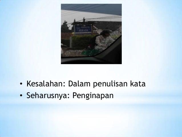 Kesalahan indonesia