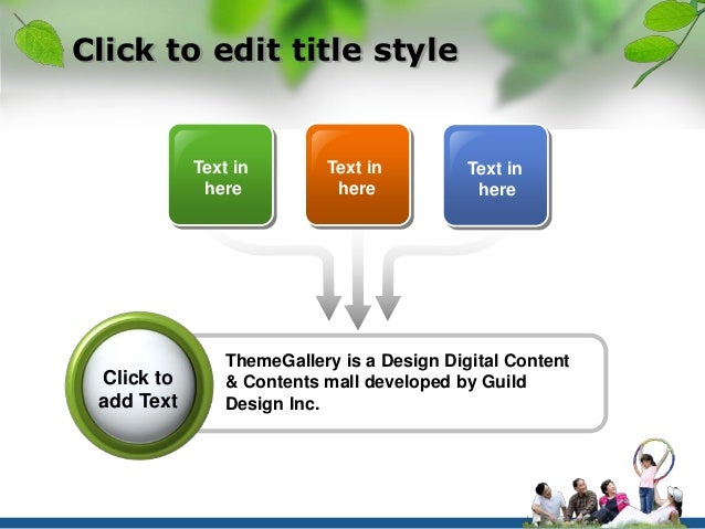 Click to edit title style  Text in  here  Text in  here  Text in  here  ThemeGallery is a Design Digital Content  & Conten...