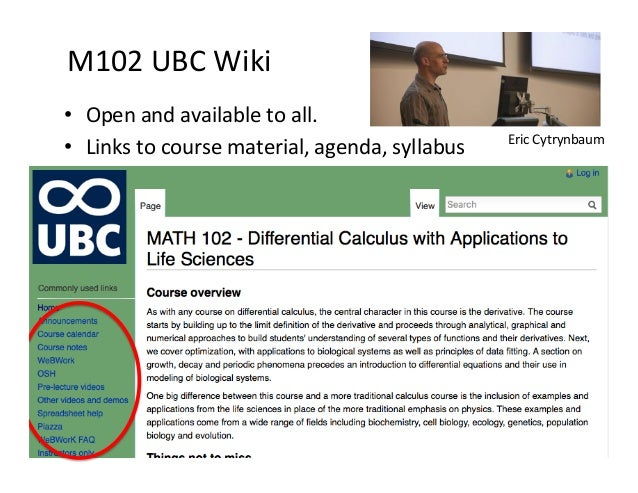 Open textbooks in UBC Math Department
