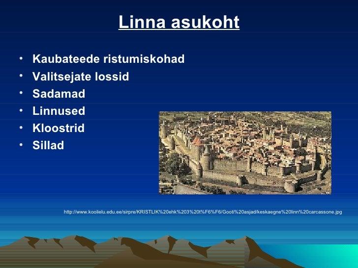 Keskaegsed linnad Slide 3
