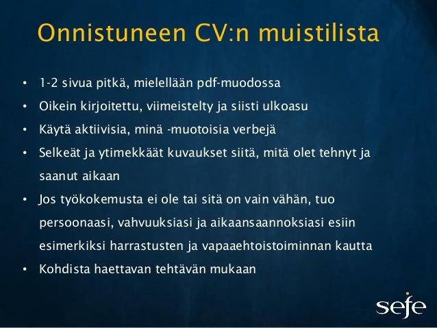 avoin työhakemus malli word Mikkeli