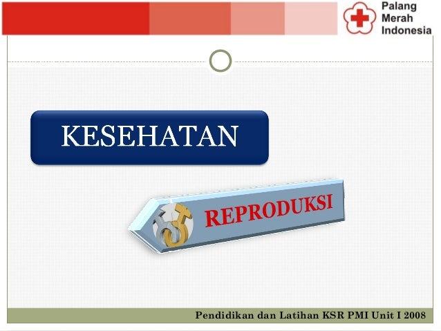 Pendidikan dan Latihan KSR PMI Unit I 2008