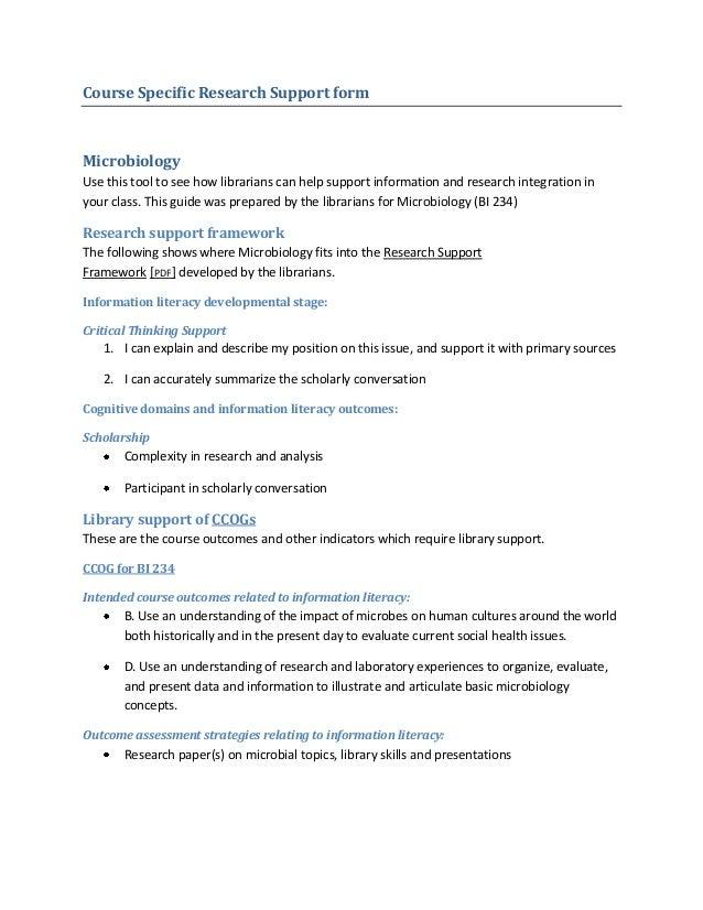 Kessinger Integrated Instruction Framework For Information Literacy