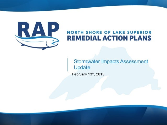 Stormwater Impacts AssessmentUpdateFebruary 13th, 2013