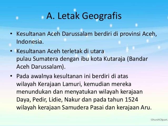 Sejarah - Kesultanan Aceh Darussalam