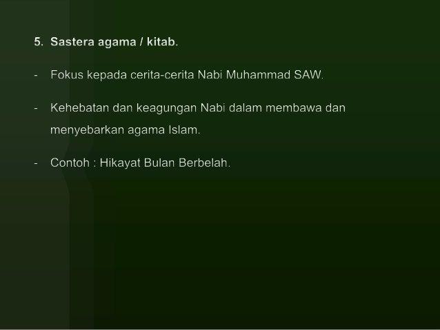 Kesusasteraan Kebudayaan Dan Kesenian Melayu
