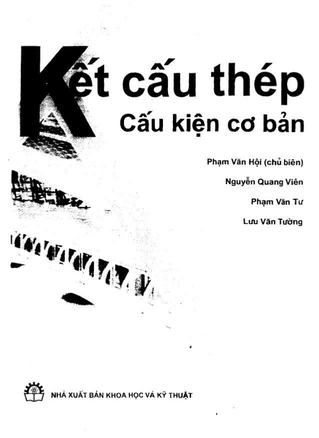Giáo trình Kết cấu thép 1 - Phạm Văn Hội