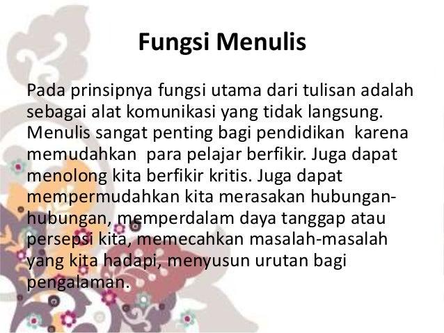 Keterampilan berbahasa indonesia 1