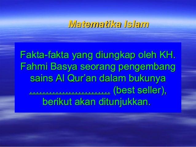 Fakta-fakta yang diungkap oleh KH.Fakta-fakta yang diungkap oleh KH. Fahmi Basya seorang pengembangFahmi Basya seorang pen...