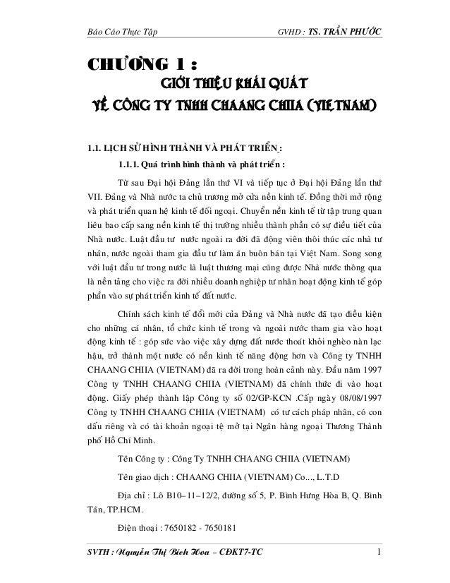 Baùo Caùo Thöïc Taäp                                      GVHD : TS. TRAÀN PHÖÔÙCCHÖÔNG 1 :                       GIÔÙI TH...