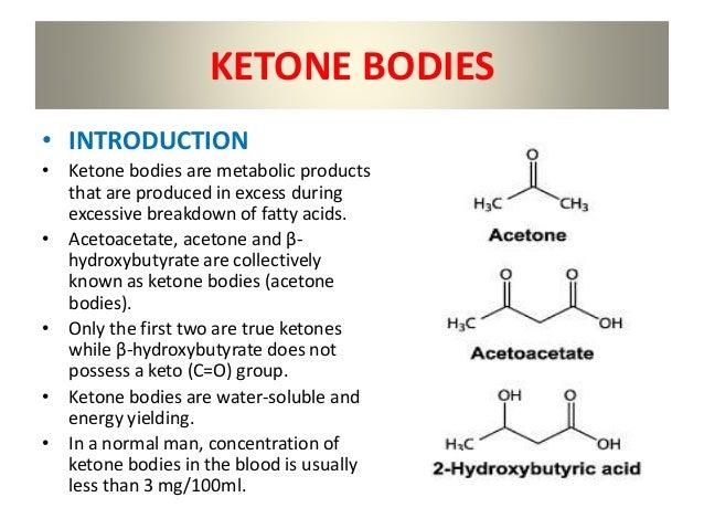 Risultati immagini per Ketone bodies