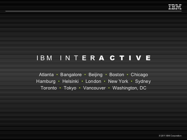 Atlanta   •   Bangalore   •   Beijing   •   Boston   •   Chicago Hamburg   •  Helsinki  •  London   •  New York   •   Sydn...