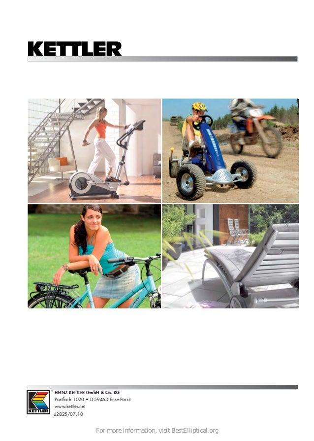 Kettler Fitness Elyx 3 Elliptical Crosstrainer