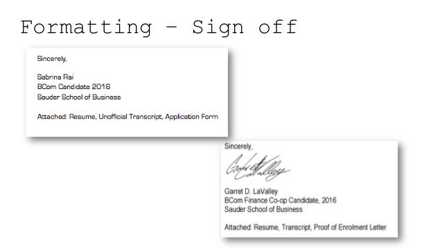 Cover letter enclosure resume transcript