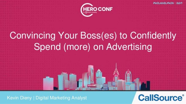 Convincing Your Boss(es) to Confidently Spend (more) on Advertising