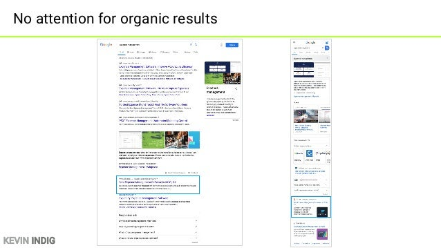 KEVIN INDIG No mobile impressions when SERP Features are present