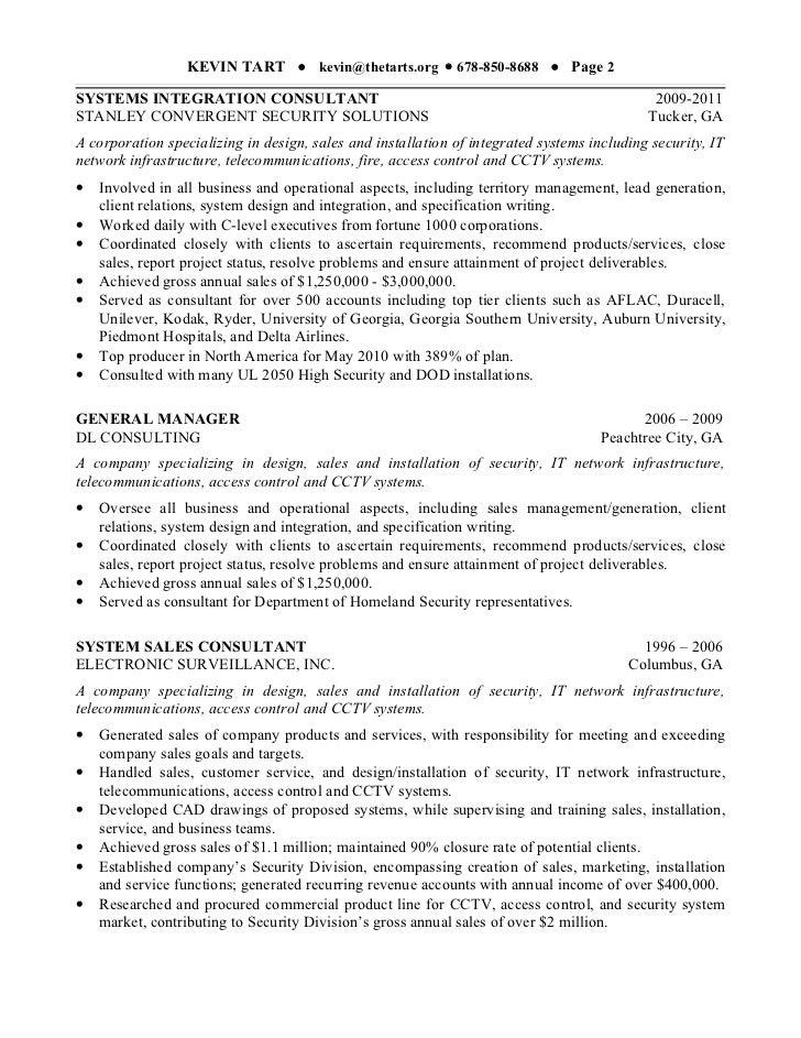 kevin tart resume