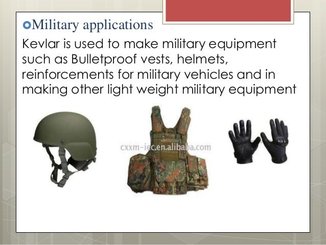 12 military applications kevlar is