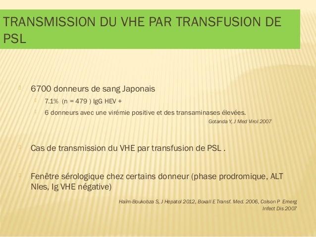 Lebray p h patites virales et tc du 2015 for Fenetre serologique
