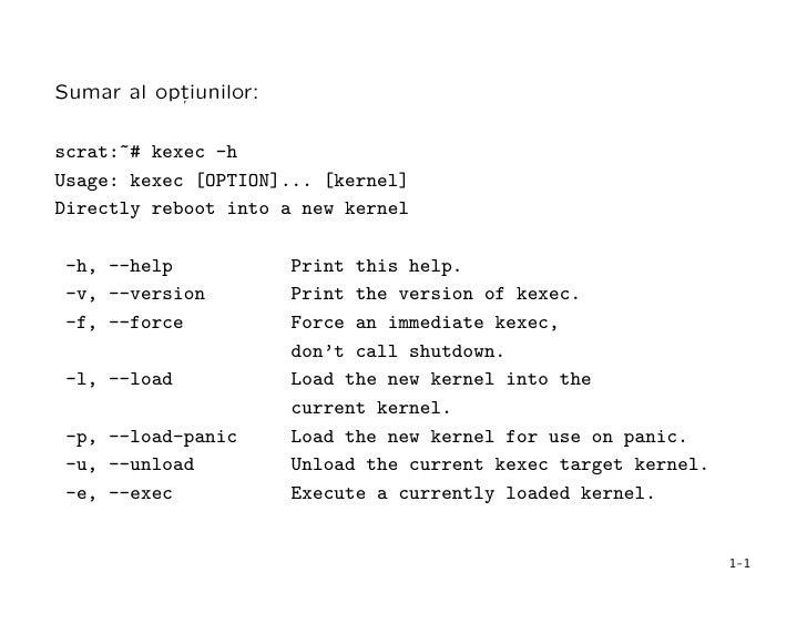 kexec (lightning talk) Slide 3