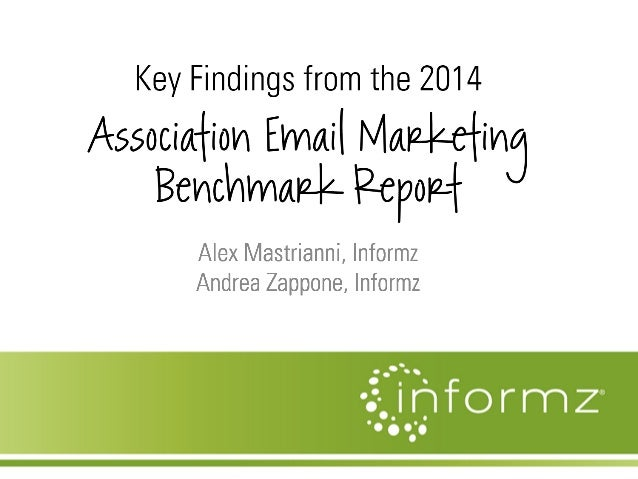 Key Findings from the 2014 Association Email Marketing Benchmark Report