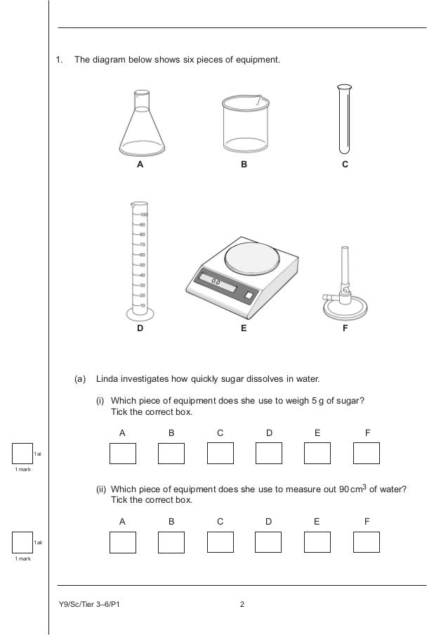 Key stage 3 ks3 science 36 p1 2010 ccuart Images