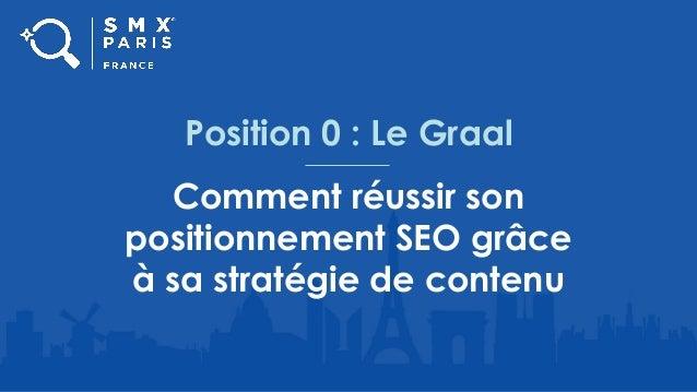Position 0 : Le Graal Comment réussir son positionnement SEO grâce à sa stratégie de contenu