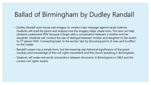 Ballad of Birmingham Analysis Essay Sample