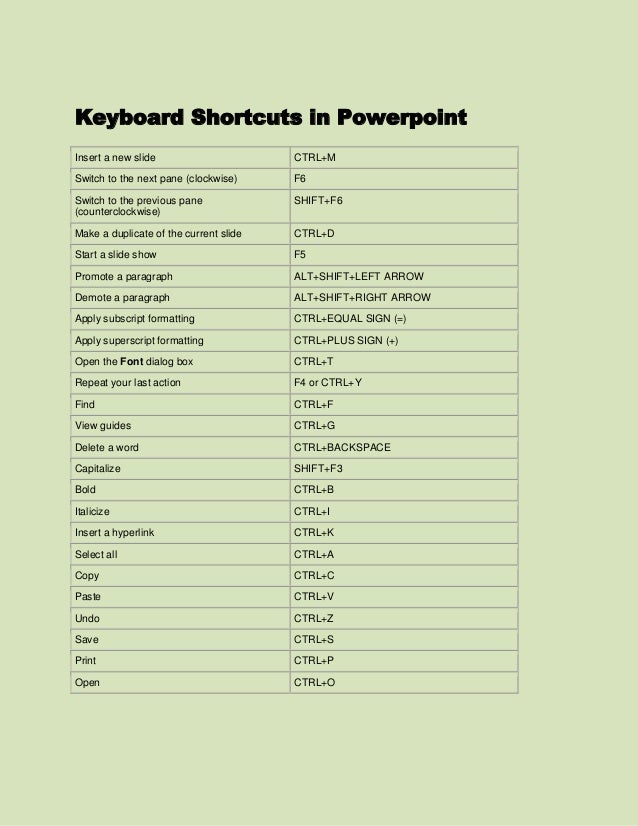 Get 100+ Additional PowerPoint Shortcuts - Control PowerPoint with Keyboard Shortcuts