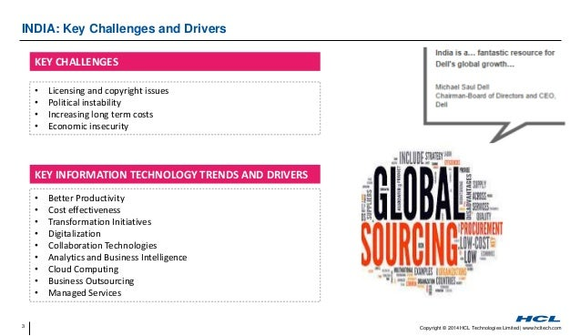 Key drivers of outsourcing information technology essay