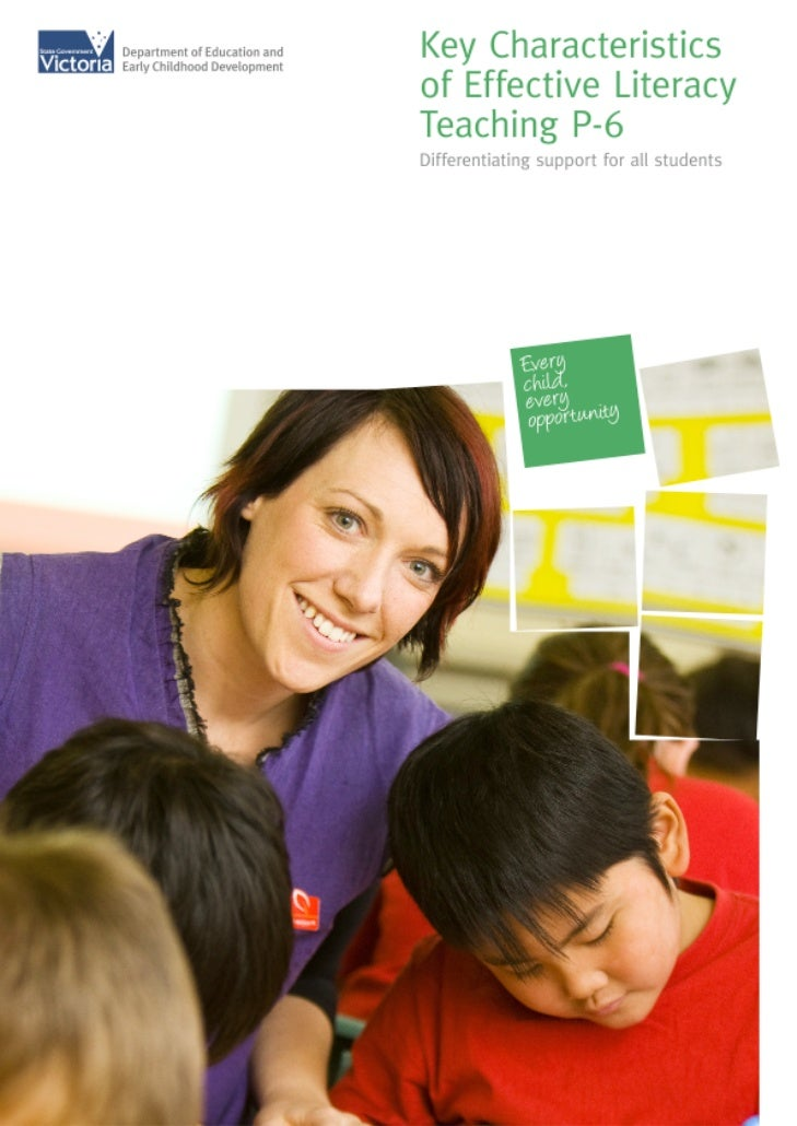 Published for Student Learning DivisionDepartment of Education andEarly Childhood DevelopmentMelbourneSeptember 2009© Stat...